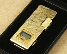 Perfect Vintage Metallic Gas Lighter LCD Watch New Old Stock NOT WORKING