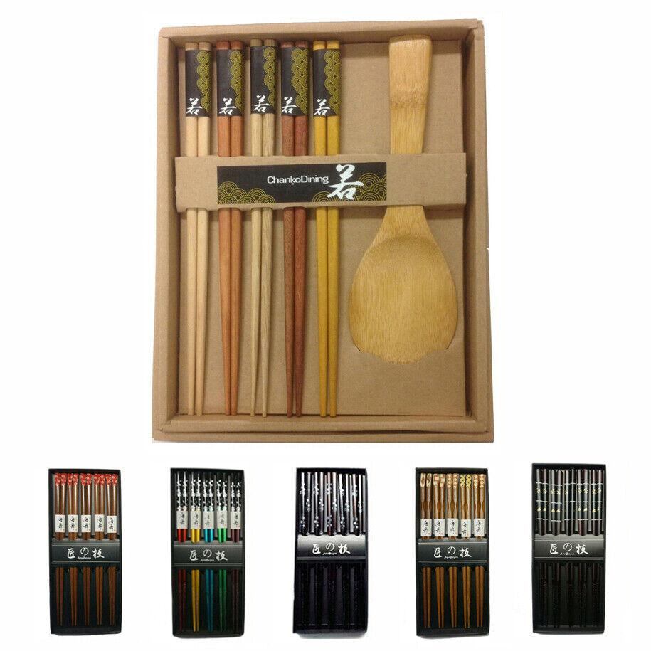JapanBargain 4515 Wooden Chopsticks Regular Brown