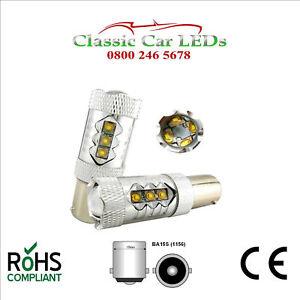 2x-80w-ba15s-CREE-12v-24v-High-Power-LED-Lampadina-Stop-retro-nebbia-DRL-1156-382
