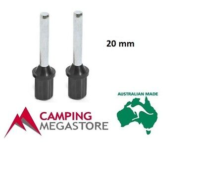 Grass Camping Tent//Canopy Pole End Plug Replacement Fits Soft Ground Mud