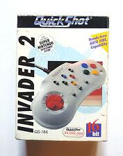 * Super Nintendo SNES Controller-Quick Shot Invader turbo 2-nuevo en caja OVP *