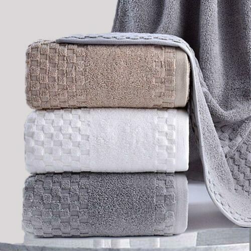Thickened cotton Bath Towels for Adults beach towel bathroom Extra Large Sauna
