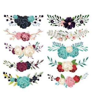10pc-Flowers-Iron-on-Heat-Transfer-Patches-for-Kids-Clothing-DIY-Stripe-Applique