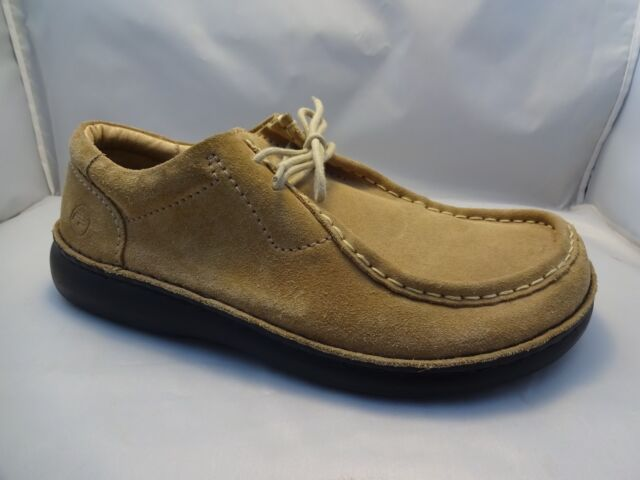 size 40 fa526 d85f7 *RIGHT SHOE ONLY* Footprints by Birkenstock Tan Suede Lace Up Amputee Sz  43/9.5