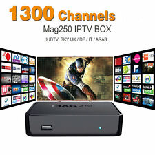 New IPTV Set Top Box MAG 250 Multimedia Player Internet TV Full HD