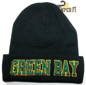 e8c8586d0b4 Green Bay Packers Team Color 3D Direct Embroidered Beanie Knit Cap ...
