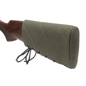Tourbon-Slip-on-Recoil-absorb-Pad-Rifle-Shotgun-Buttstock-Range-Shooting-Green