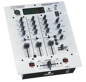 Details about Behringer DX626 Pro DJ Mixer Disco Club Venue BPM Meter  Counter