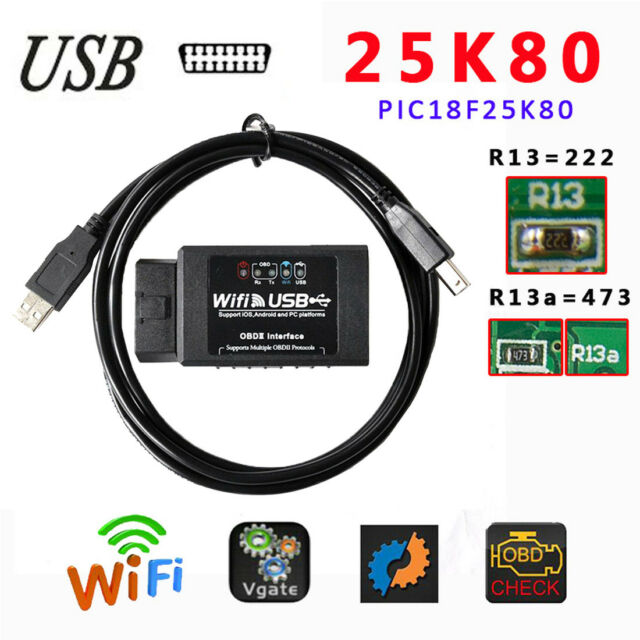 android obd2 usb cable