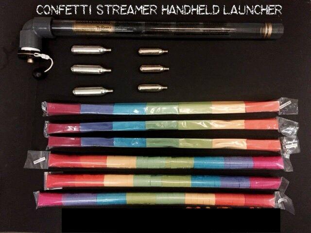 Confetti Blaster Handheld Launcher Cannon 20 inch Barrel Kit Confetti Shooter