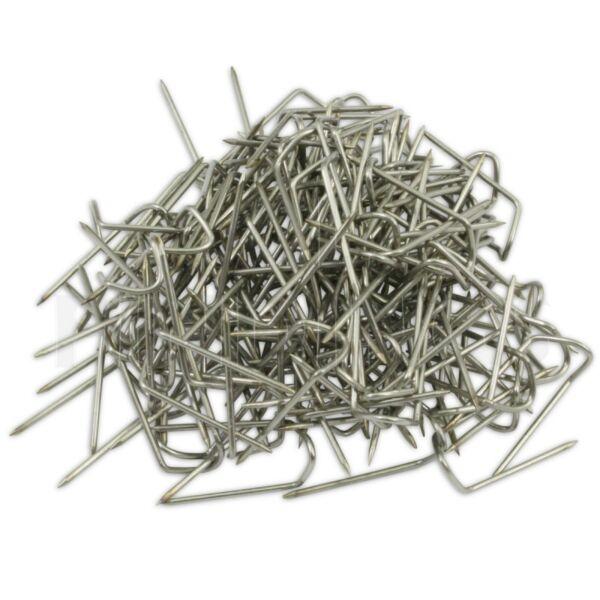 100 Silberschmuck Anzeige U Pinnen Stahl Craft Hänger Halskette Perlen Werkzeug Noch Nicht VulgäR