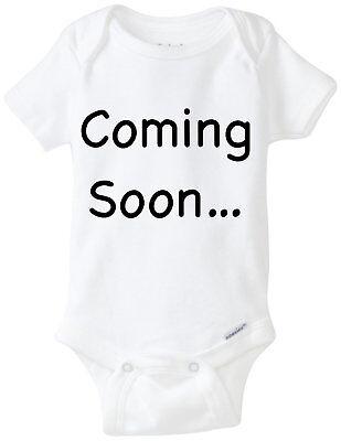 Coming Soon 2020 Gerber Onesie  Baby Shower Gift Pregnancy Announcement
