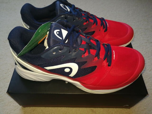 5d7f2ed26728 HEAD Sprint Pro 2.0 Men s Tennis Shoes Size 9.5 Black and Red for ...