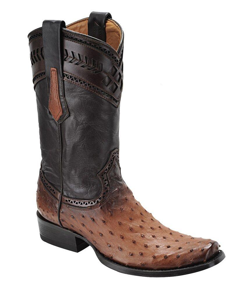 1J30A1 Urban Urban 1J30A1 Ostrich Western Boots made by Cuadra efedda