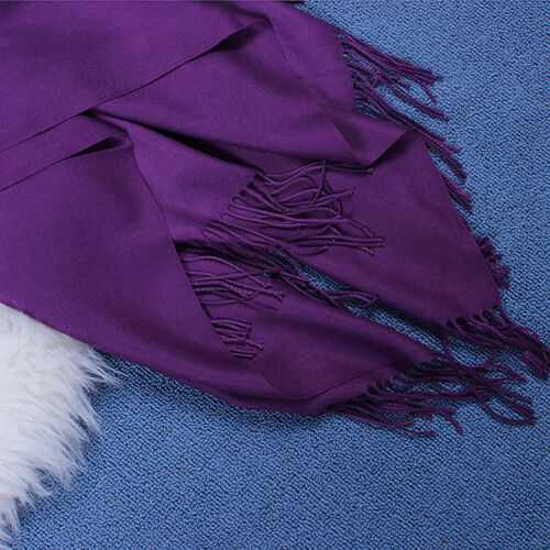 Women/'s Oversized Cashmere Wool Solid Pashmina Scarf Wraps Warm Blanket Scarves*