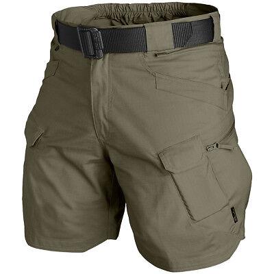 "Onesto Helikon Tex Utl Urban Tactical Outdoor Shorts Pantaloni 8.5"" Poco Taiga Green Taglia Xl-mostra Il Titolo Originale"