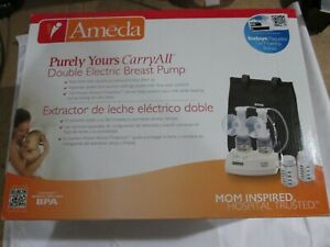 Ameda Purely Yours CARRY ALL Double Electric Breast Pump BRAND NEW SEALED
