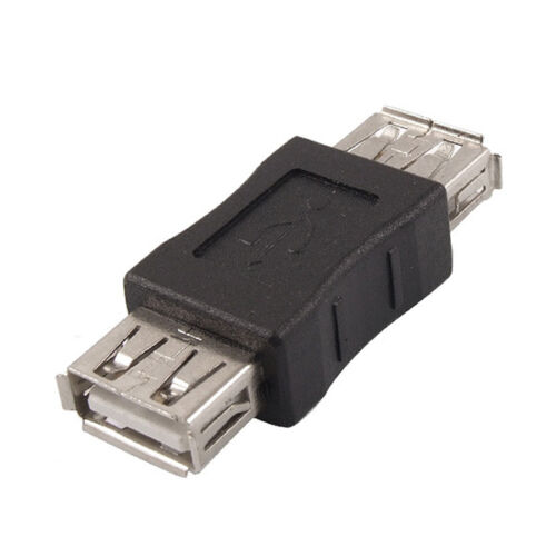 USB 2.0 Type A Female to Female Coupler Adapter Connector Extender