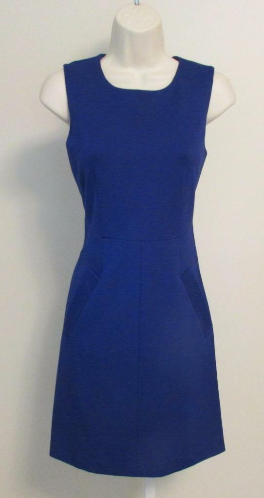 Diane von Furstenberg Furstenberg Furstenberg Carpreena Mini Chrome Purple dress shift 10 knit zipper 2fbd45