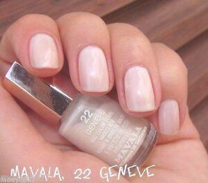 Image Is Loading New 17oz Mavala Nail Polish Color Pearl Geneve