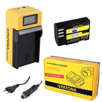 caricabatteria casa//auto per Pentax K5 II DSLR,K-5 IIS SLR Batteria Patona