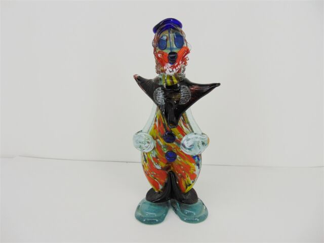 Vintage Murano Glass CLOWN 10.75