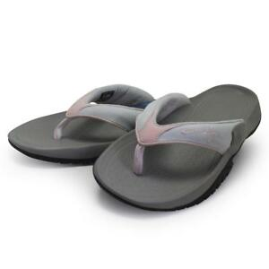 8fbc0a44f8ad Oakley GASKET Sandals Pale Pink Grey Size 10 US Womens Girls Thongs ...
