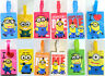 1 X Despicable Me Minions Luggage School Bag Tag Name Label ID SECURITY TRAVEL