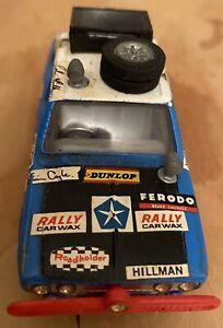 VINTAGE-Corgi-Toys-n-302-ROOTES-Hillman-Hunter-MKII-london-Sydney-rallycar