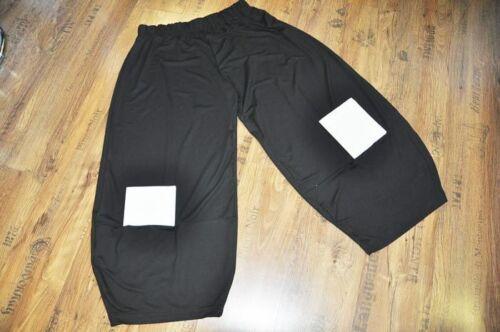 Big a xxxl 48 52 xxl fodera Tasche Lagenlook jersey Nero balloon pants 50 54 dOfw6X6Tq