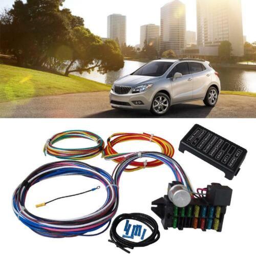 Universal Wire Harness Kabel Kabelbaum 12 Wire Straßen Verkabelung XL Drähte EV1