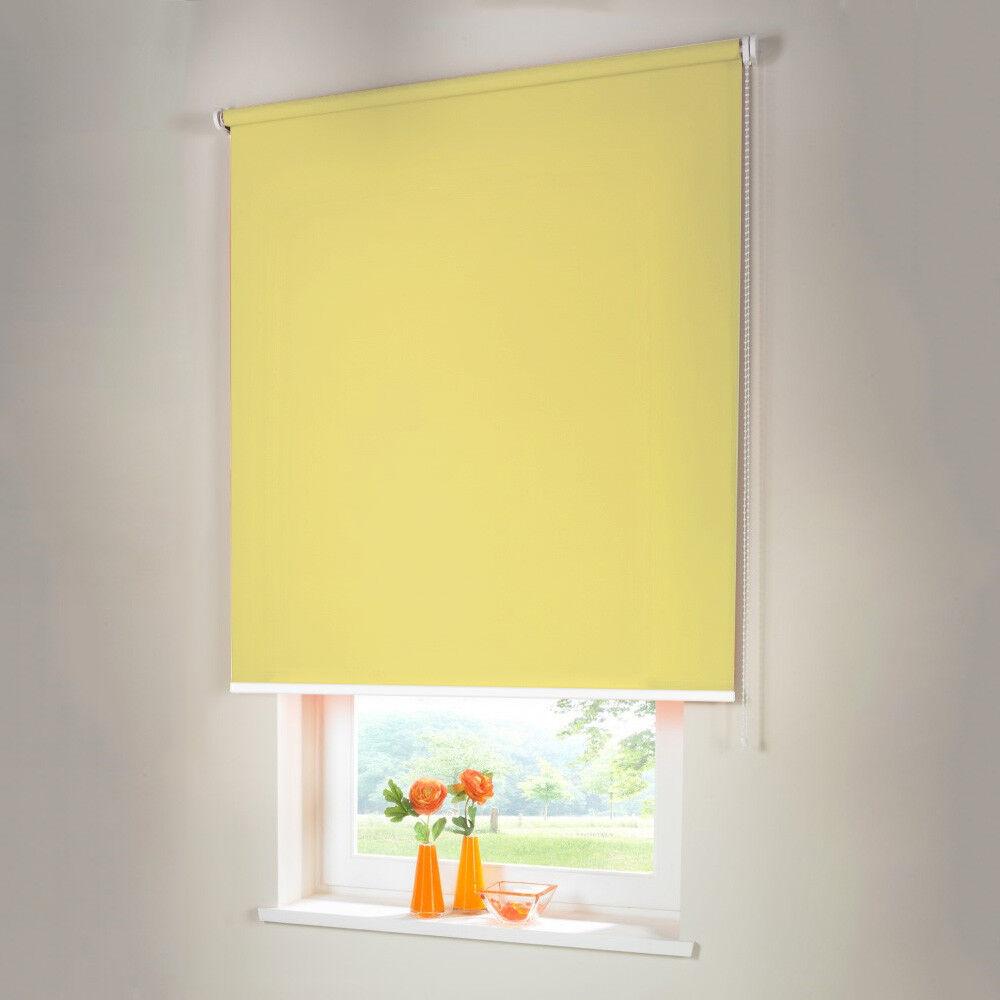Persiana para oscurecer seitenzug kettenzug persiana-altura 230 cm amarillo