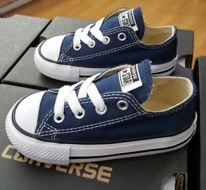 6c29099f463c40 Image is loading CONVERSE-ALL-STAR-CHUCK-TAYLOR-LOW-7J237-NAVY-