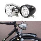 Classic Retro Vintage Bike Bicycle 6 LED Front Light Lamp Headlight With Bracket