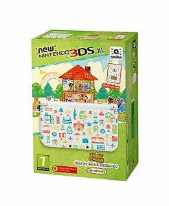 New 3DS XL Animal Crossing: Happy Home Designer + amiibo Card ...