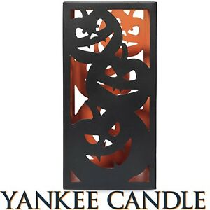 Yankee-Candle-ALL-HALLOWS-EVE-JACK-O-LANTERN-JAR-HOLDER-Large-Size-New