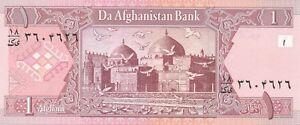 AFGHANISTAN-P64a-Billet-s-de-1-AFGHANI-2002