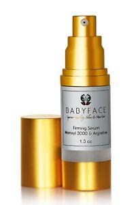 Babyface-FIRMING-SERUM-Argireline-Matrixyl-3000-Peptide-Hyaluronic-Acid-Wrinkle