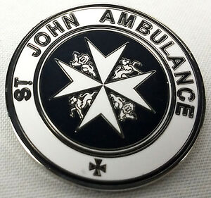 The TARDIS St. John Ambulance Sign - Doctor Who TV Series Enamel Pin