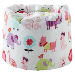 Children-039-s-Bean-Bag-Cute-Pets-Girls-Kids-Bedroom-Furniture-Seat-Beanbag-Animals