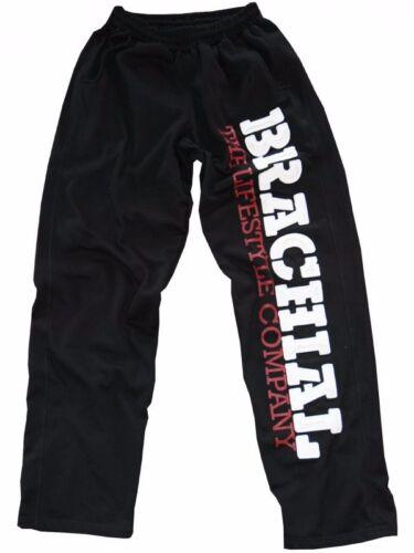 """Brachial Pantalon de Sport /"""" Gym /"""" Noir//Blanc Musculation Fitness Survêtement"""