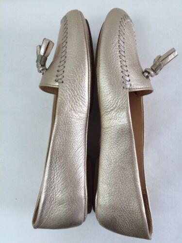 Scarpe Sz New Rogers in Jack oro chiaro plateau platino 5m 6 con Mocassino pelle Terra 88qHw7r