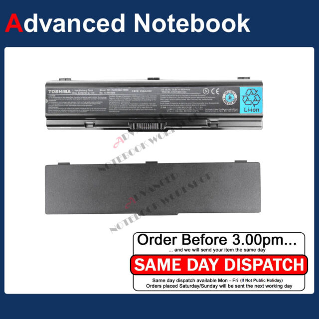Genuine Laptop battery for Toshiba PA3534U-1BRS PA3534U-1BAS L300 A200 A300 A500