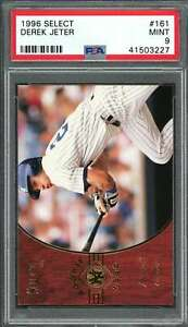 1996-select-161-DEREK-JETER-new-york-yankees-rookie-card-PSA-9