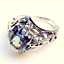 Luxury-White-Fire-Opal-925-Silver-Plated-Gems-Women-Jewelry-Ring-6-7-8-9-10-11 thumbnail 35