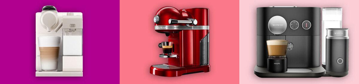 Aktion ansehen Nespresso Aktionsangebote Kaffeeautomaten und Co. bis zu -40% ggü. UVP