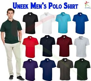 Uneek-Unisex-Mens-Active-Poloshirt-Work-Wear-Top-Casual-Leisure-Polo-Tee-XS-6XL