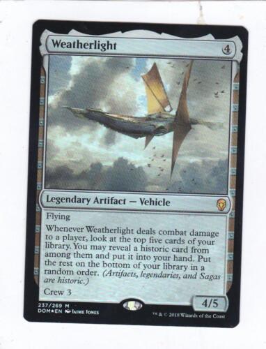 Weatherlight MTG Magic Dominaria