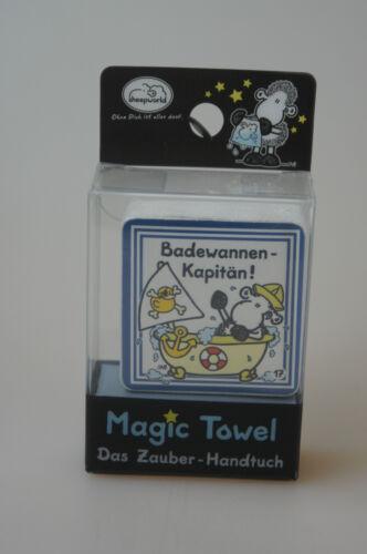 Sheepworld Zaubertuch Magic Towel Badewannenkapitän!