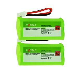 2-Coldless-Phone-NiMH-Rechargeable-Battery-For-BT-166342-266342-BT1011-CPH-515J